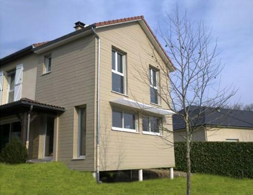 maisons à ossature bois sur Brive-la-Gaillarde